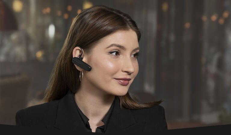 Nero Jabra Talk 5 Auricolare Bluetooth