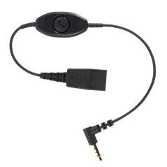 JABRA QUICK DISCONNECT (QD) TO 3.5MM PHONE CORD (0.3M)